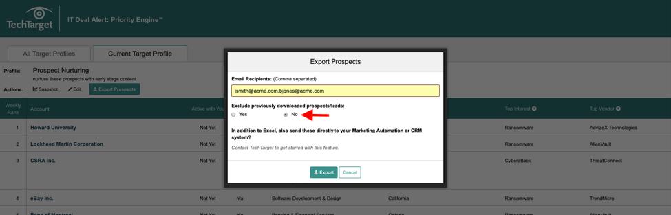 techtarget-export-target-profiles