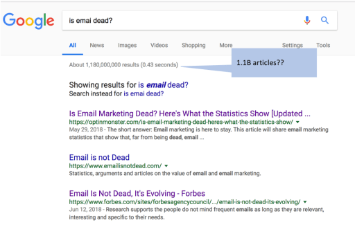 email-is-dead