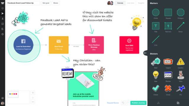 A screenshot of Autopilot's new Annotate and Collaborate feature.