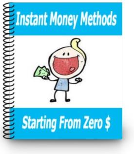 instant money methods