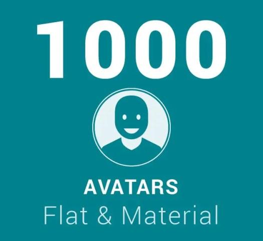 1000 avatars