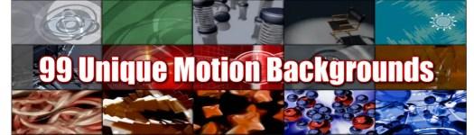 99 unique motion backgrounds