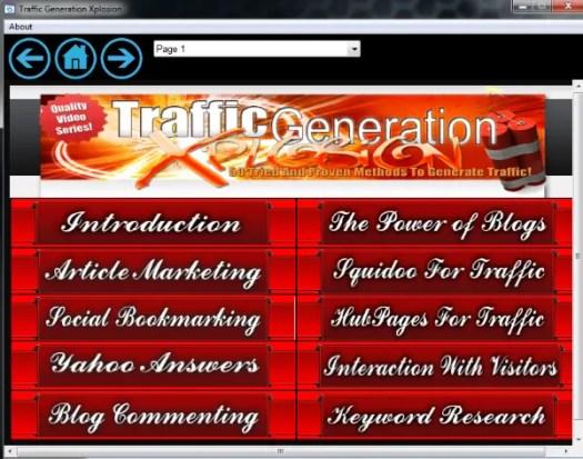 traffic generation xplosion