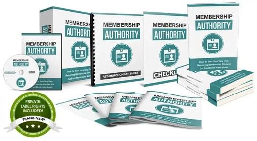 membership authority plr