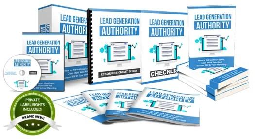 lead generation authority plr