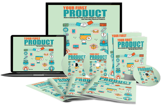 your first product plr