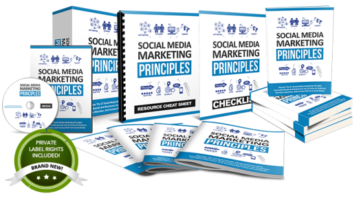 social media marketing principles plr