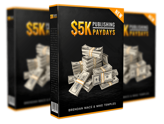 5K Publishing Paydays