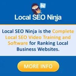 Local Seo Ninja Training And Software