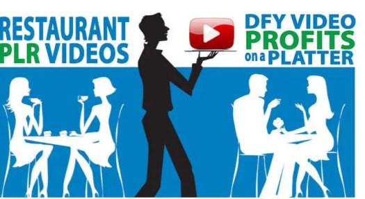 Restaurant PLR Videos