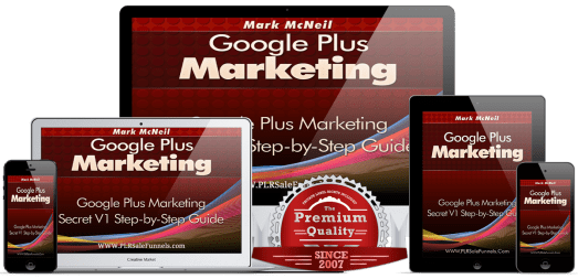 Google Plus Marketing PLR