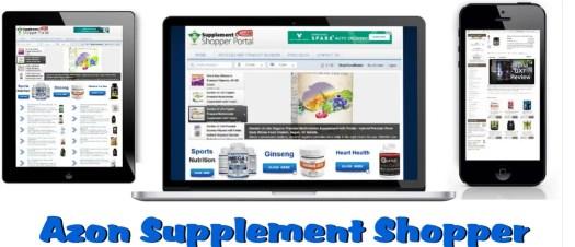 Azon Supplement Shopper Portal