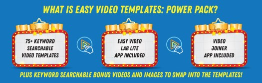 Easy Video Templates: Power Pack