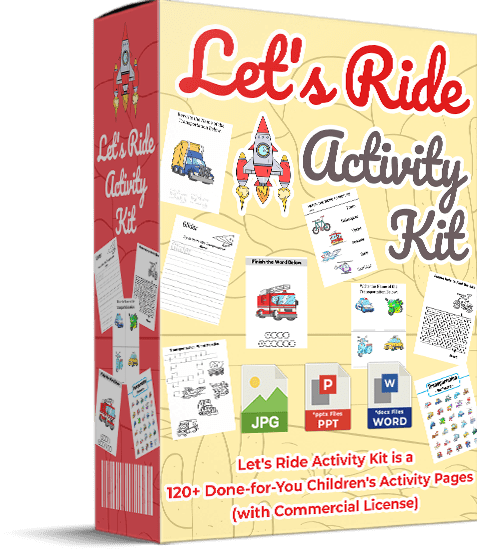 Lets Ride Activity Kit