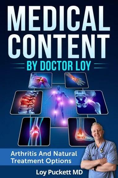 Arthritis and Natural Treatment PLR