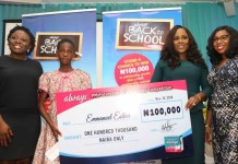 Always Rewards Winners of its #MyFutureStartsToday Essay Competition-marketingspace.com.ng