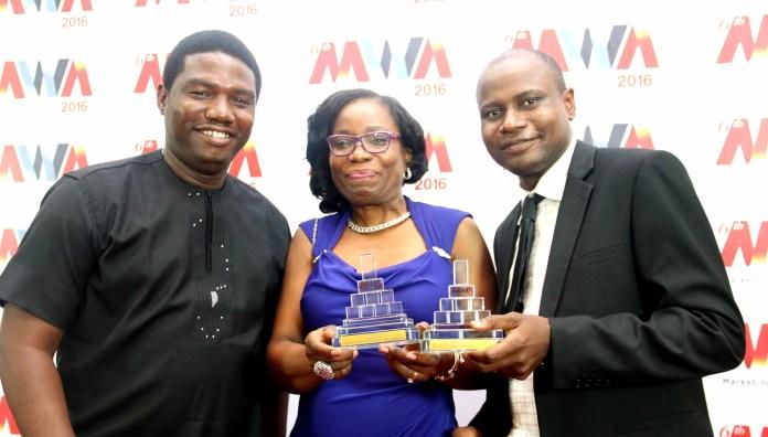 Brooks and Blake Wins MWA PR Agency of the Year 2016-marketingspace.com.ng