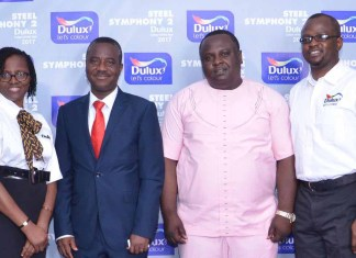 Dulux Names 'Steel Symphony 2' as 2017 Colour of the Year-marketingspace.com.ng