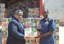 Dufil Supports NAF IDPs Humanitarian Efforts With 4,000 Cartons Of Noodles-marketingspace.com.ng