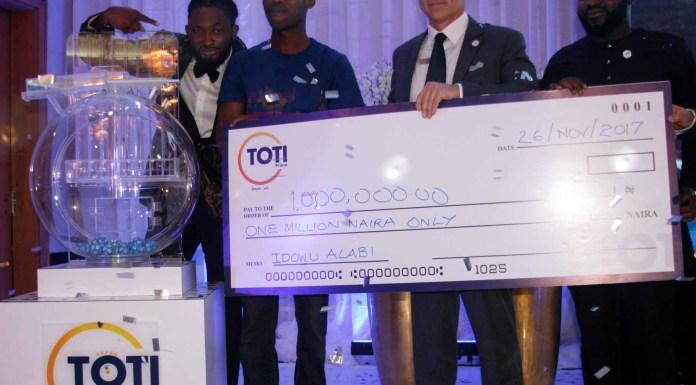 TOTI Prima Unveils New Lotto Brand in Nigeria-marketingspace.com.ng