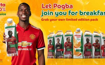 New Chivita 100% Limited Edition Packs Bring Football Stars To Breakfast-marketingspace.com.ng