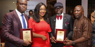SIFAX Haulage, Corporate Affairs Manager Win Awards-marketingspace.com.ng