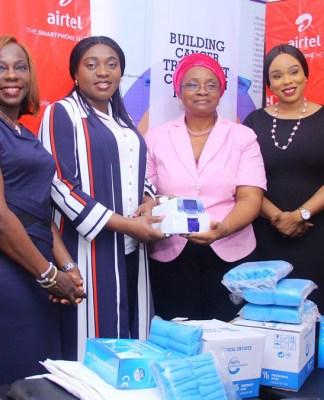 Airtel Donates Medical Kits to Cancer Treatment Foundation-marketingspace.com.ng