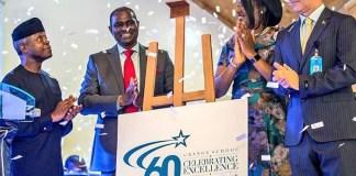 Osinbajo, Ogunsanya Commend Grange School on Diamond Jubilee-marketingspace.com.ng
