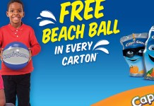Capri-Sonne Promises More Fun With Beach Ball Promo-marketingspace.com.ng