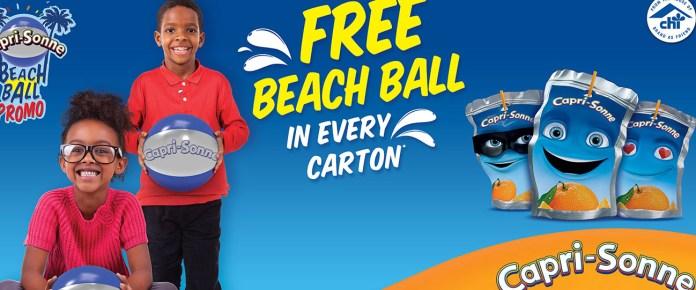 Capri-Sonne Promises More Fun With Beach Ball Promo-marketingspace.com.ng