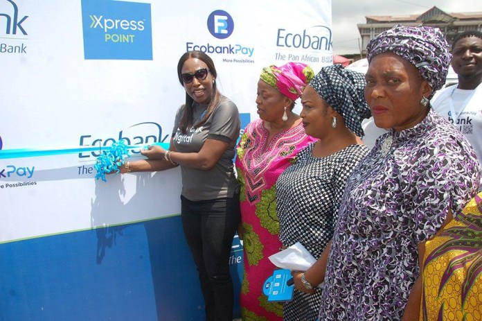 Excitement Greets Arrival of EcobankPay Zone In Lagos Island Markets-marketingspace.com.ng