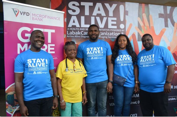 """Health Is Wealth: VFD MFB, Arrive Alive And Others Take """"Project Stay Alive"""" To Lagos Communities-marketingspace.com.ng"""