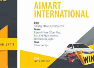 Aimart Realtors To Reward Customers In Season's Promo Draws-marketingspace.com.ng