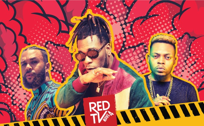 REDTV Set To Host The Biggest Party Of 2019…Grammy Award Nominee, Burna Boy, Olamide 'Baddo' Jidenna To Perform-marketingspace.com.ng
