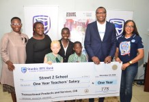 Stanbic IBTC Excites School With One Year Teachers' Salary-marketingspace.com.ng