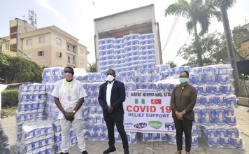 Covid-19: Hayat Kimya Nigeria Supports Lagos And Ogun With Truckloads Of Hygienic Products-marketingspace.com.ng