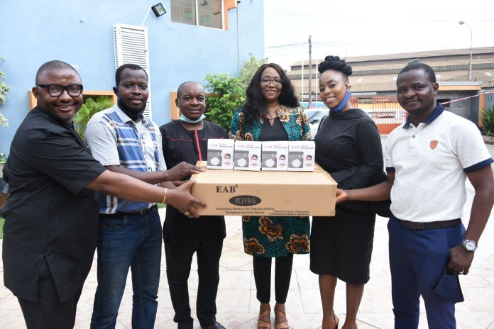 MultiChoice Nigeria visits BJAN, Donates PPE To Prevent COVID-19 Spread-marketingspace.com.ng