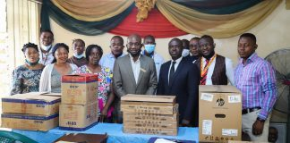 SIFAX Group Donates Computers, Fans To Apapa General Hospital-marketingspace.com.ng