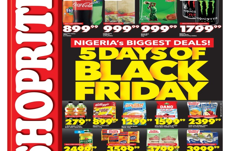 Shoprite Surprises Customers On A Bumper Black Friday-marketingspace.com.ng
