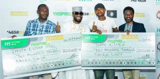 Heritage Bank's YNSPYRE, CREAM Platform April Draw Produce Millionaires-marketingspace.com.ng