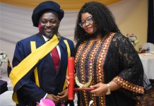 Monument Distillers Nigeria CEO, Godwin Oche Bags Honorary Doctorate-marketingspace.com.ng