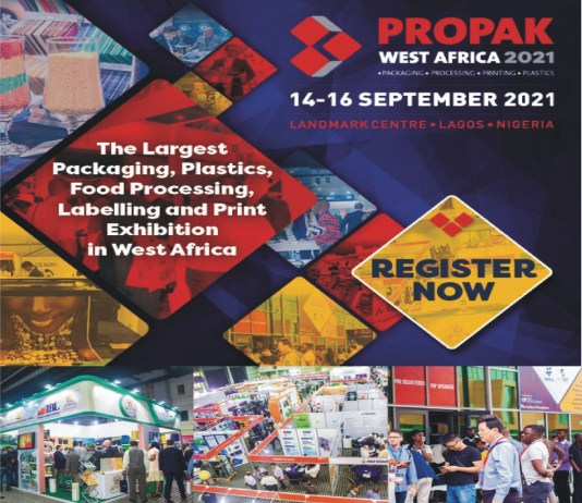 Biggest Packaging, Plastics, Print And Labeling Exhibition In West Africa Holds September 14-16-marketingspace.com.ng