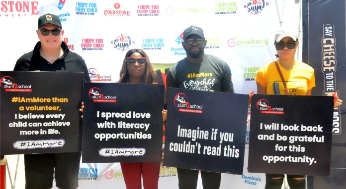 Eat 'N' Go Partners With Slum2School To Celebrate International Literacy Day At Tarkwa Bay-marketingspace.com.ng