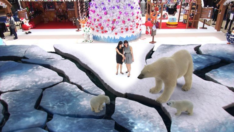 Coca Cola's Arctic Home Augmented Reality campaign