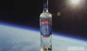 Poliakov vodka sent a bottle of vodka to space, but it wasn't an engaging experiential marketing campaign.