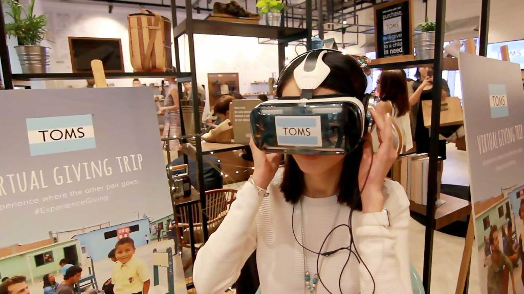 VR and AR tackle opposing sides of nonprofit marketing's intention-action gap