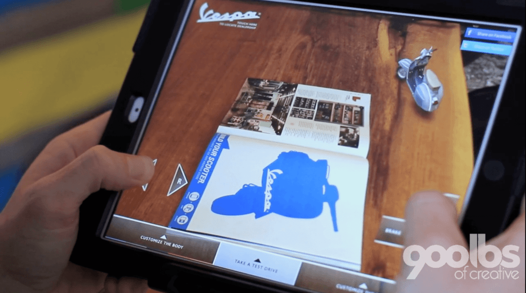 Augmented Reality merges product customization with gamification