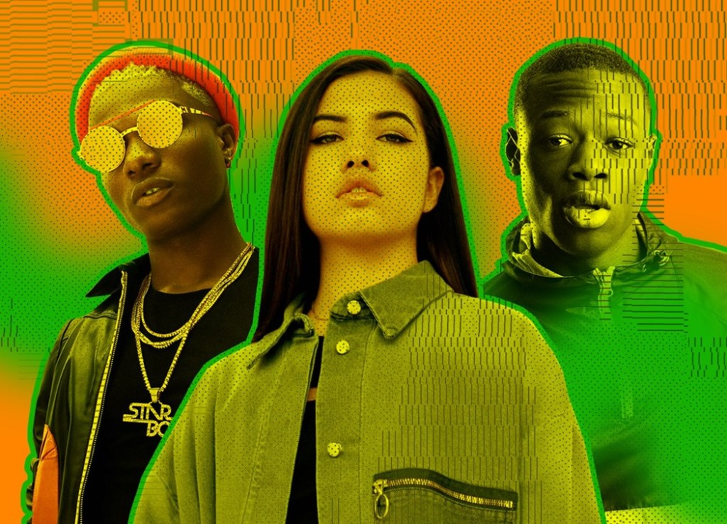 The digital disruption has allowed Spotify to take advantage in the rise of genres like Afrobeat.
