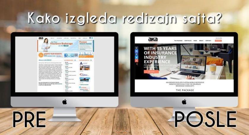 izgled redizajn sajta cena web sajt redizajn