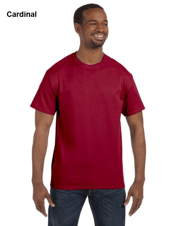 Jerzees Adult 5.6 oz. DRI-POWER ACTIVE T-Shirt Cardinal